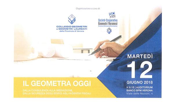 """Sponsor ufficiali del convegno """"Il geometra oggi"""" 12 giugno 2018."""