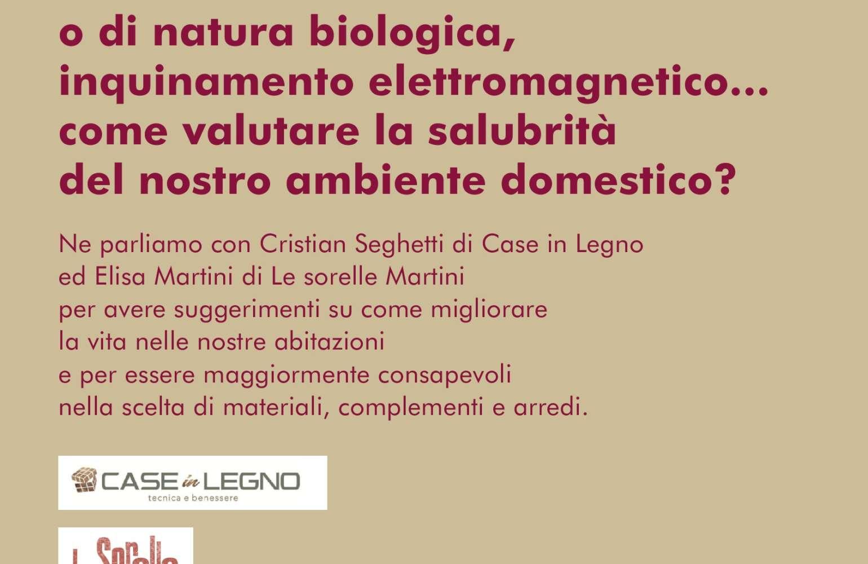 GIOVEDI' 24 GENNAIO: Incontro per l'inquinamento Indoor, ne parliamo a Verona, Corso Milano 110